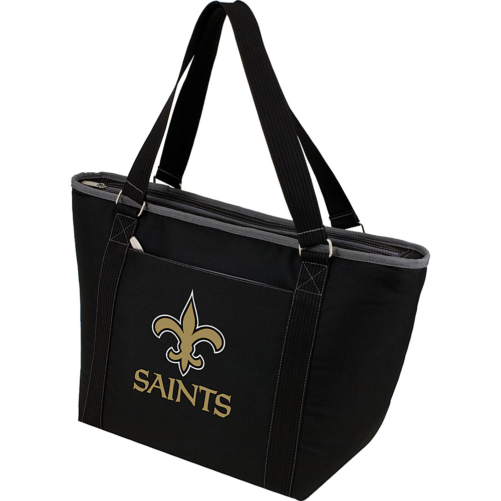 Picnic Time New Orleans Saints Topanga Cooler New Orleans Saints Black - Picnic Time Outdoor Coolers - Outdoor, Outdoor Coolers