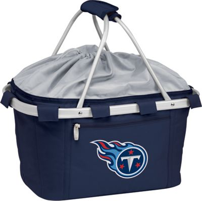 Picnic Time Tennessee Titans Metro Basket Tennessee Titans Navy - Picnic Time Outdoor Coolers