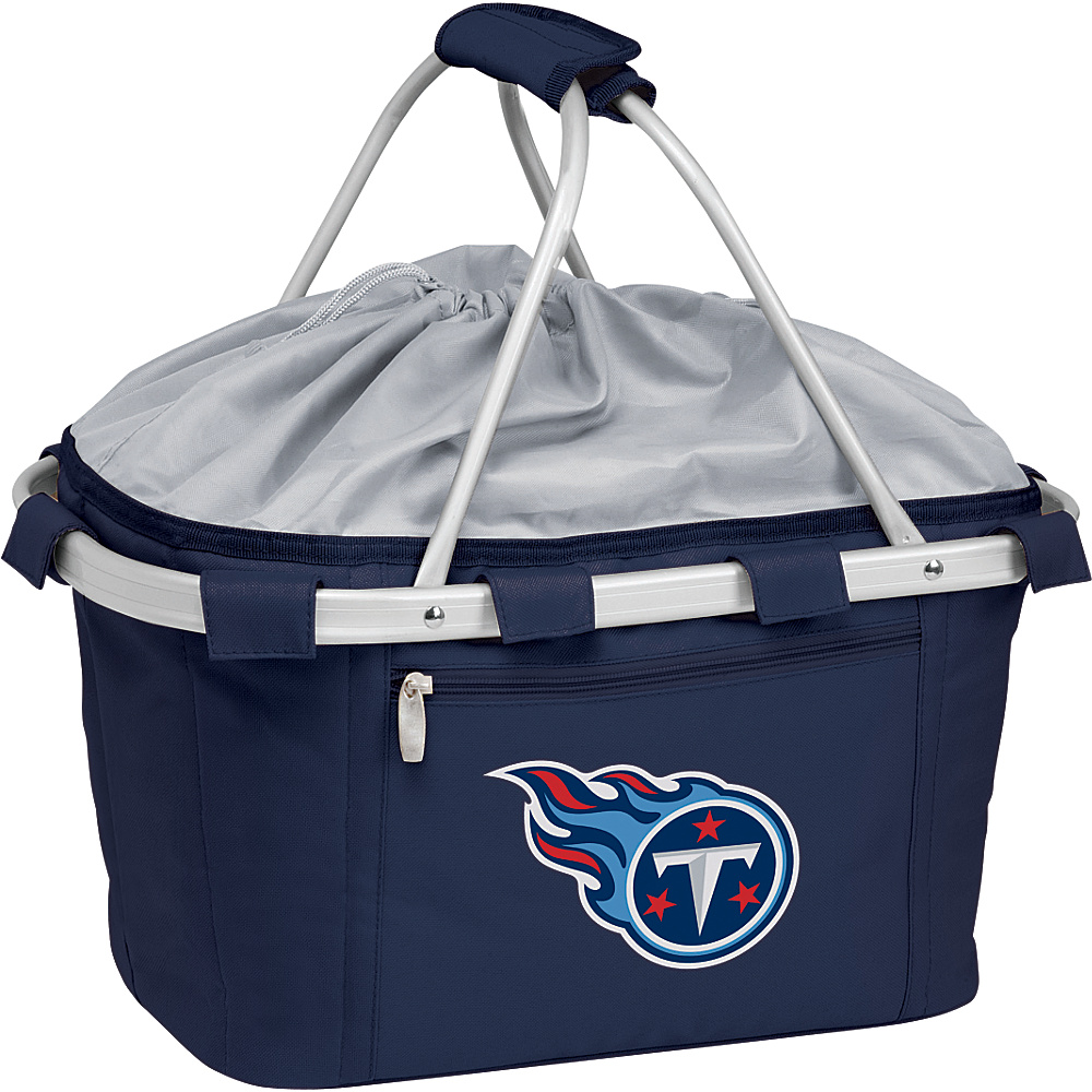 Picnic Time Tennessee Titans Metro Basket Tennessee Titans Navy - Picnic Time Outdoor Coolers - Outdoor, Outdoor Coolers