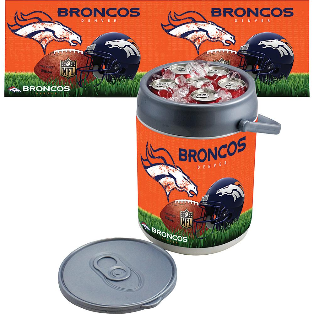 Picnic Time Denver Broncos Can Cooler Denver Broncos - Picnic Time Outdoor Coolers - Outdoor, Outdoor Coolers