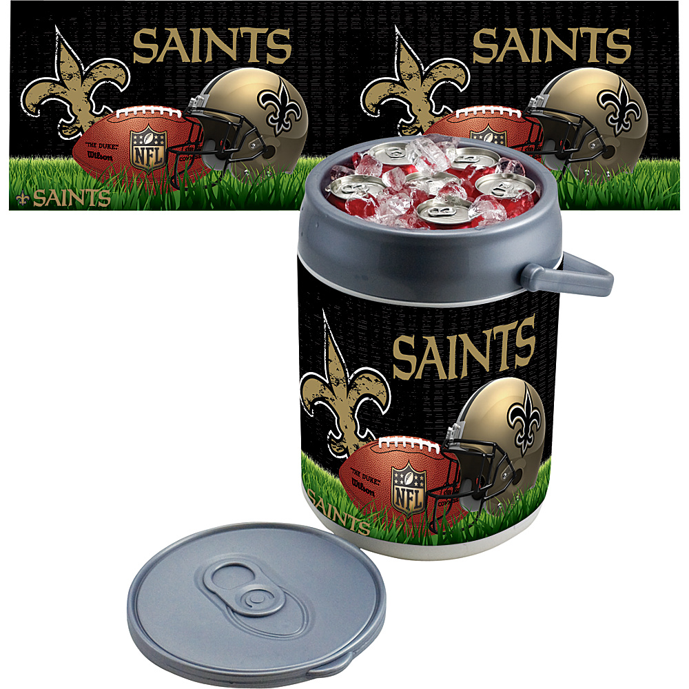 Picnic Time New Orleans Saints Can Cooler New Orleans Saints - Picnic Time Outdoor Coolers - Outdoor, Outdoor Coolers