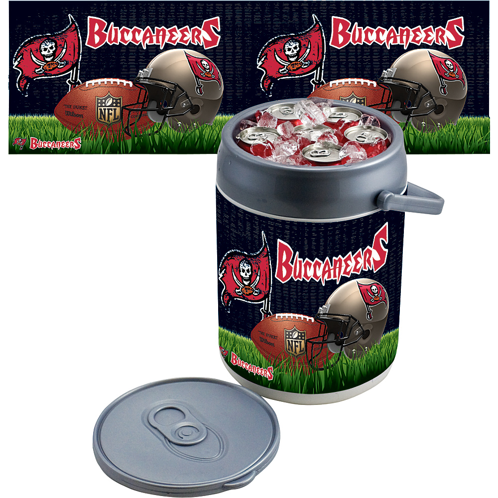 Picnic Time Tampa Bay Buccaneers Can Cooler Tampa Bay Buccaneers - Picnic Time Outdoor Coolers - Outdoor, Outdoor Coolers