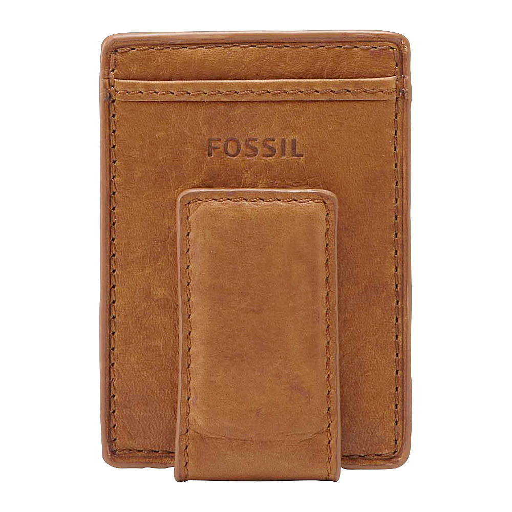 Fossil Ingram Mag Multi Wallet Cognac Fossil Men s Wallets