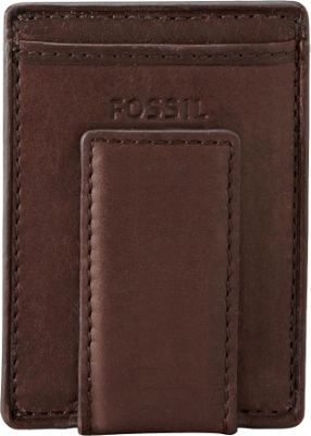 Fossil Ingram Mag Multi Wallet Brown - Fossil Men's Wallets
