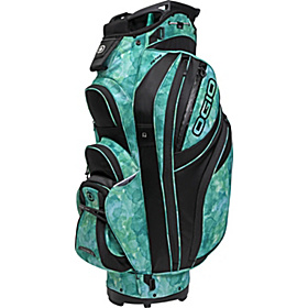 Women's Petra Cart Bag Green Watercolor