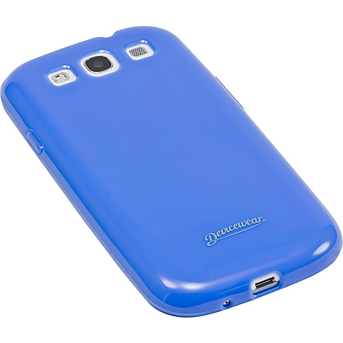 Devicewear Haven: Samsung Galaxy S III Case (For All Galaxy S3 Phones from AT&T, T-Mobile, Sprint, Verizon, or Unlocked) Blue - Devicewear Personal Electronic C