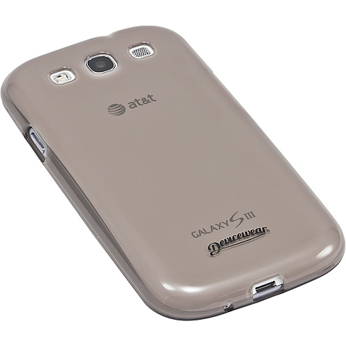 Devicewear Haven: Samsung Galaxy S III Case (For All Galaxy S3 Phones from AT&T, T-Mobile, Sprint, Verizon, or Unlocked) GRY - Devicewear Personal Electronic Ca