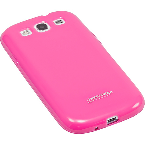 Devicewear Haven: Samsung Galaxy S III Case (For All Galaxy S3 Phones from AT&T, T-Mobile, Sprint, Verizon, or Unlocked) Pink - Devicewear Personal Electronic C