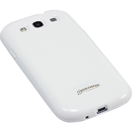 Devicewear Haven: Samsung Galaxy S III Case (For All Galaxy S3 Phones from AT & T, T-Mobile, Sprint, Verizon, or Unlocked) White - Devicewear Personal Electronic