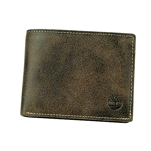 Timberland Wallets Danforth Passcase Wallet Brown - Timberland Wallets Mens Wallets