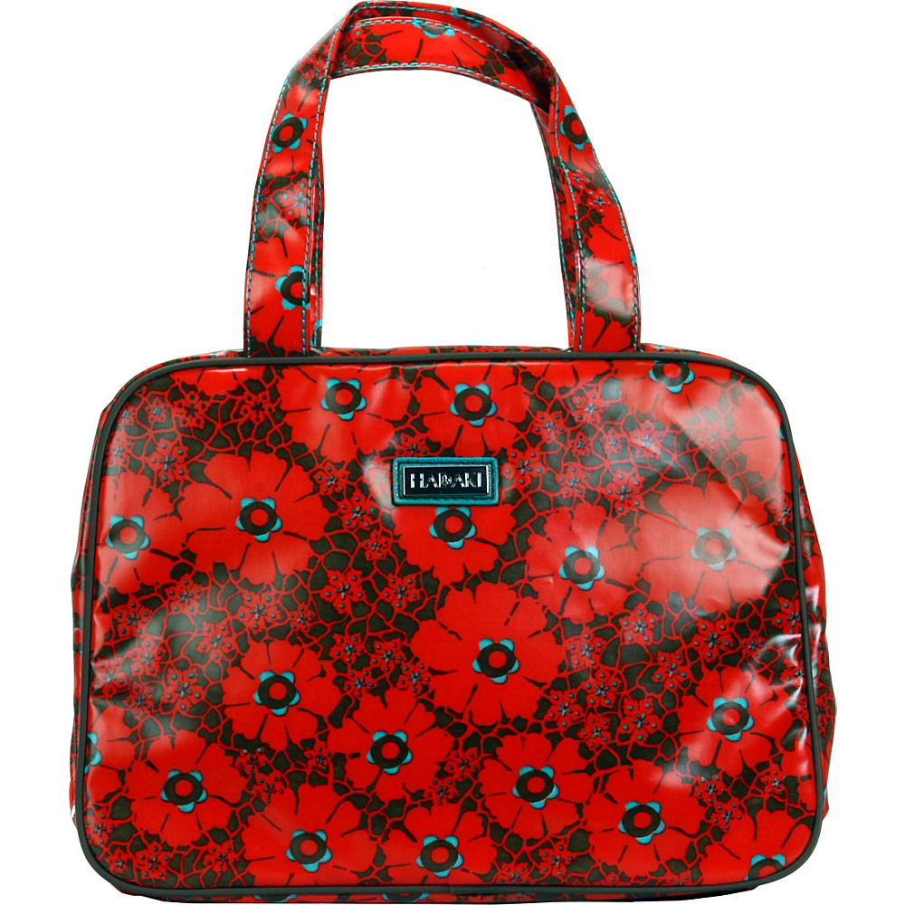 Hadaki Coated Makeup Case Pod Primavera Lacey - Hadaki Toiletry Kits - Travel Accessories, Toiletry Kits