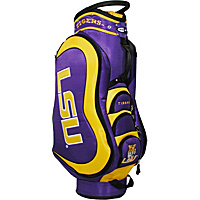 Team Golf NCAA Louisiana State University (LSU) Tigers Medalist Cart Bag Purple - Team Golf Golf Bags