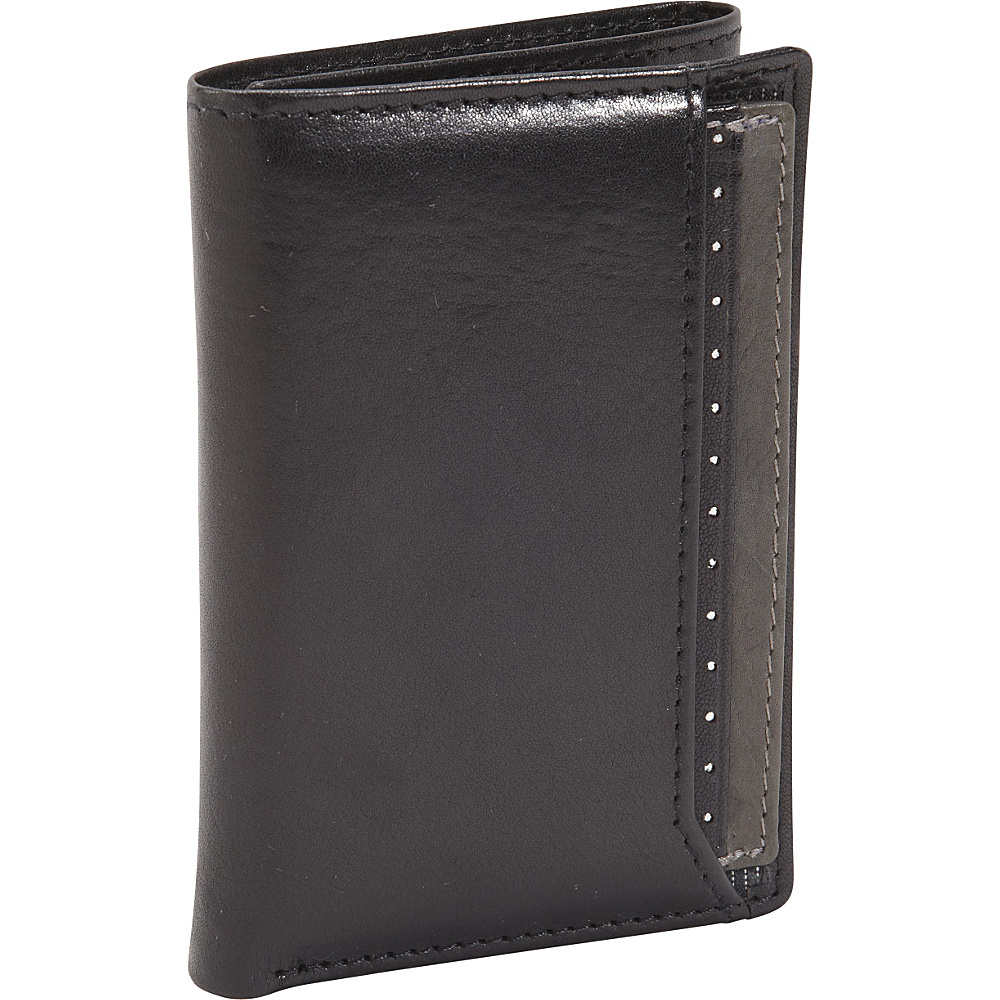 Dopp RFID Black Ops I.D. Three-Fold Wallet Black - Dopp Men's Wallets