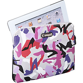 Graphic Mix Up iPad Sleeve Grey Multi