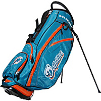 Team Golf NFL Miami Dolphins Fairway Stand Bag Teal - Team Golf Golf Bags