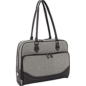 Classic Herringbone Laptop Tote (Small) - 14.1''PC / 15''MacBook Pro Herringbone