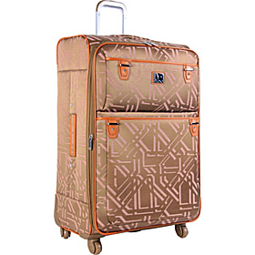 Modern Tile 20'' Spinner Carry-on Khaki