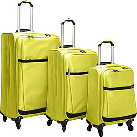 Stratos 3 Piece Spinner Set Yellow