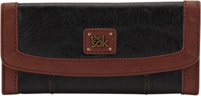 The Sak Iris Flap Wallet Black Onyx - The Sak Women's Wallets