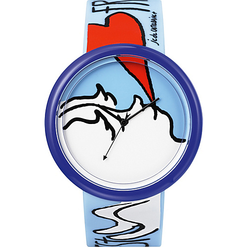 o.d.m. Watches Time Gallery Blue/Red - o.d.m. Watches Watches
