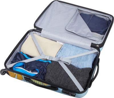 Samsonite CityScapes 3 Piece Spinner Set Blue Print - Samsonite Luggage Sets