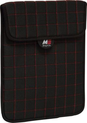 Mobile Edge NeoGrid Sleeve for iPad and 10 inch Tablets Black/Red - Mobile Edge Electronic Cases