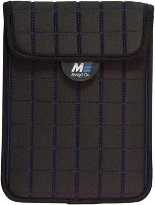 Mobile Edge NeoGrid Sleeve for iPad and 10 inch Tablets Black/Blue - Mobile Edge Electronic Cases