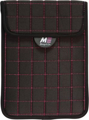 Mobile Edge Mobile Edge NeoGrid Sleeve for iPad and 10 inch Tablets Black/Pink - Mobile Edge Electronic Cases
