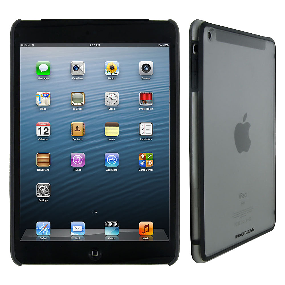 rooCASE Fuse Snap-On Shell Case for Apple iPad Mini Grey - rooCASE Electronic Cases