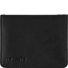 RFIDexecutive 50 RFID-Blocking Compact Bi-Fold Wallet Black