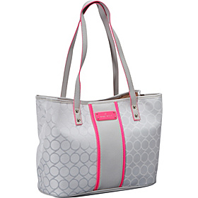 On Cloud 9 Medium Shopper Grey Mist/White/Hot Magneta