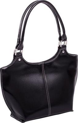Parinda Caterina Shoulder Bag Black - Parinda Manmade Handbags