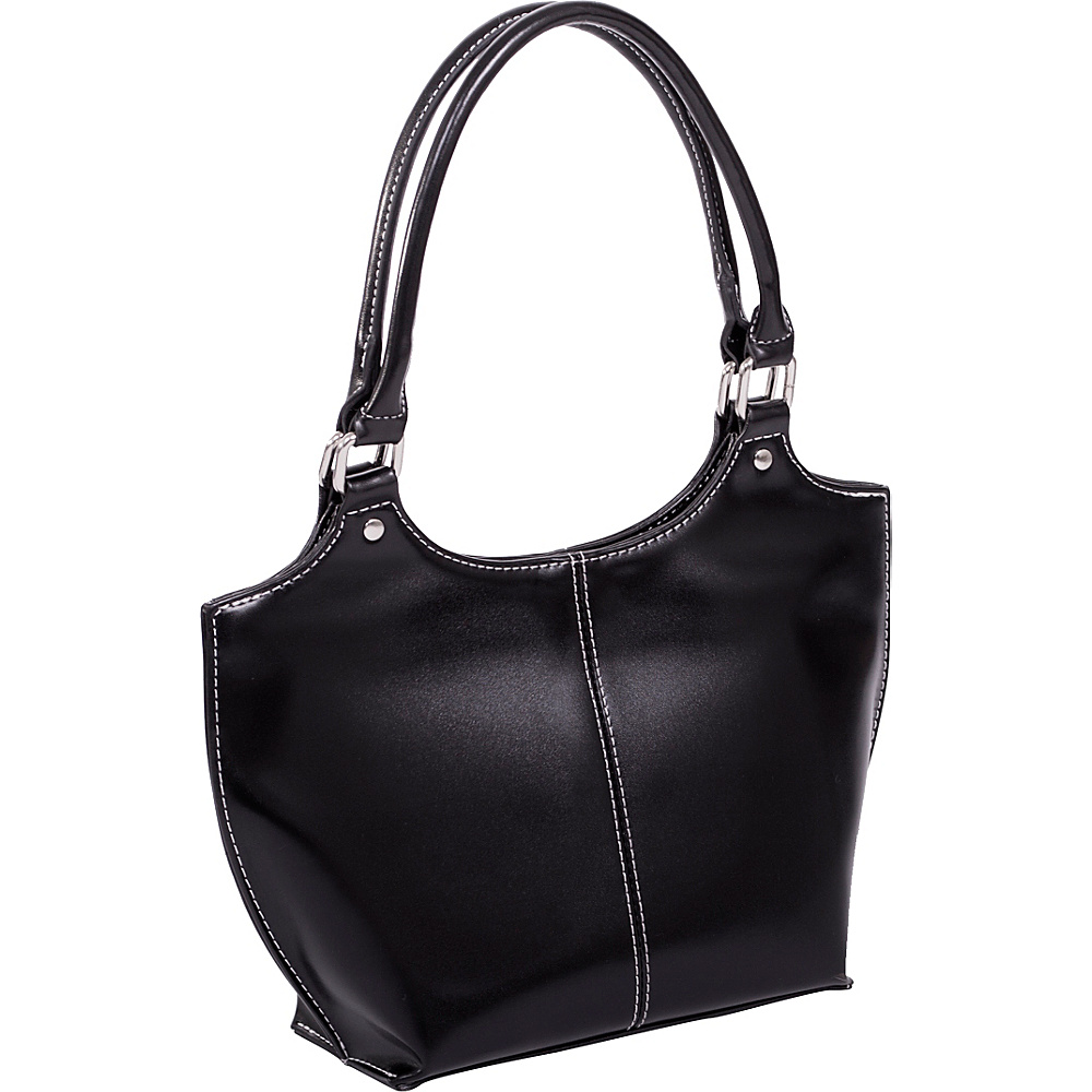 Parinda Caterina Shoulder Bag Black - Parinda Manmade Handbags