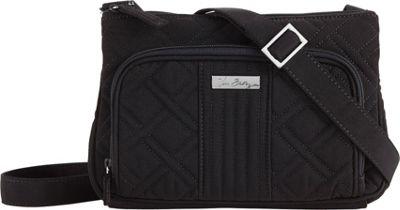 Vera Bradley Little Hipster Crossbody - Solids Black - Vera Bradley Fabric Handbags