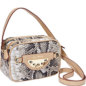 Marais Nylon Emmaline Crossbody Natural Python