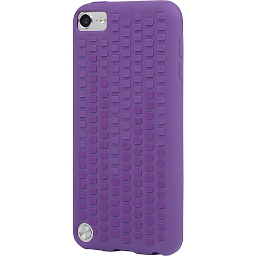 Incipio Microtexture for iPod Touch 5G Royal Purple/Vivid Violet - Incipio Personal Electronic Cases