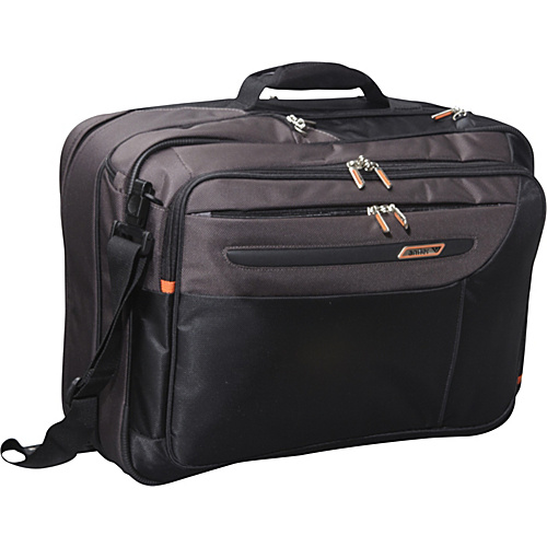 Antler The Ultimate Traveller Black - Antler Non-Wheeled Computer Cases