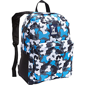 Blue Camo Tag-Along Backpack Blue Camo