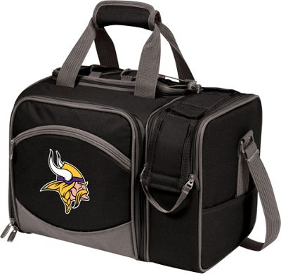 Picnic Time Picnic Time Minnesota Vikings Malibu Insulated Picnic Pack Minnesota Vikings - Picnic Time Outdoor Coolers