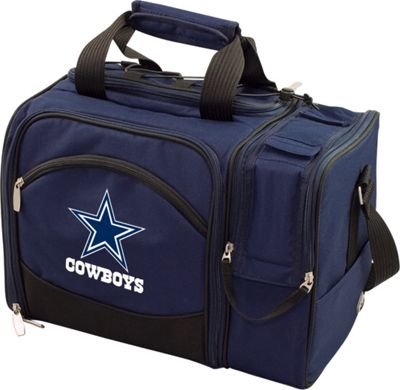 Picnic Time Picnic Time Dallas Cowboys Malibu Insulated Picnic Pack Dallas Cowboys Navy - Picnic Time Outdoor Coolers