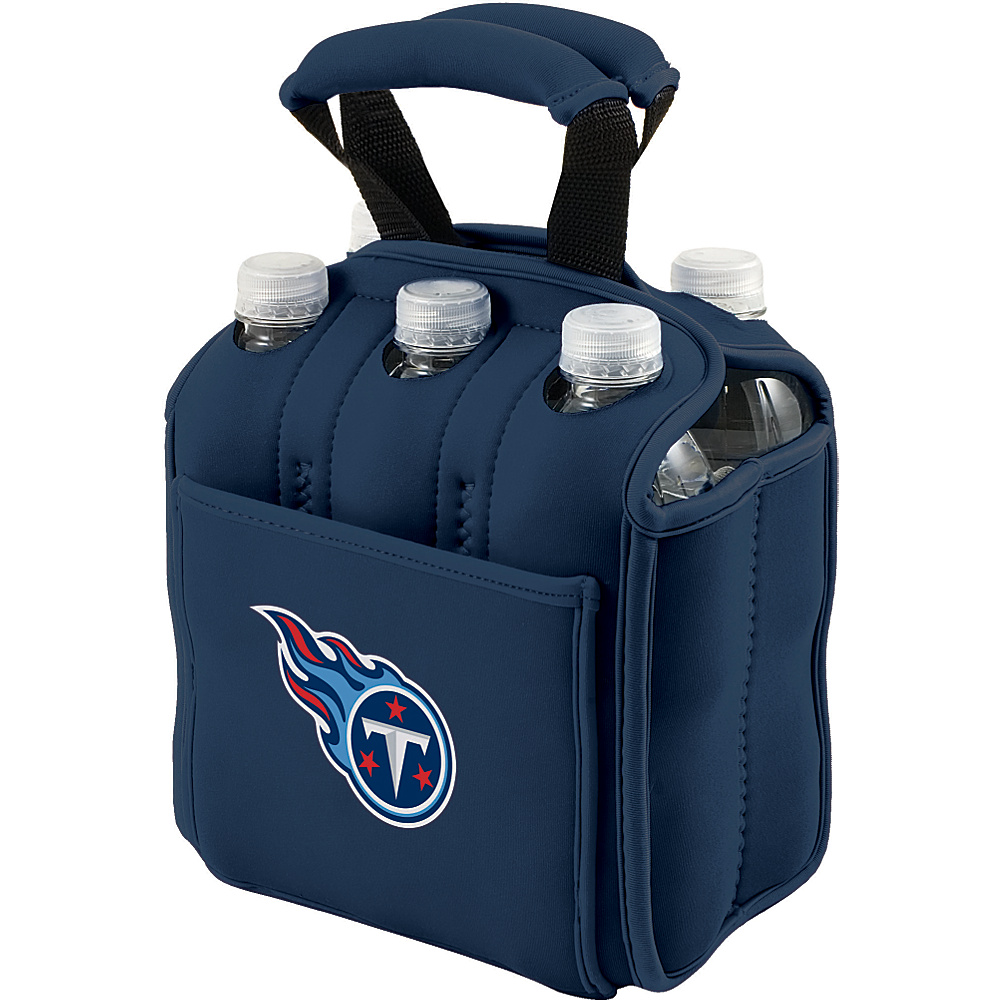 Picnic Time Tennessee Titans Six Pack Tennessee Titans Navy - Picnic Time Outdoor Accessories - Outdoor, Outdoor Accessories