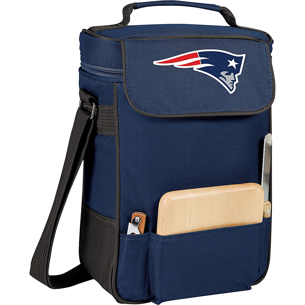 Picnic Time New England Patriots Duet Wine & Cheese Tote New England Patriots Navy - Picnic Time Outdoor Coolers - Outdoor, Outdoor Coolers
