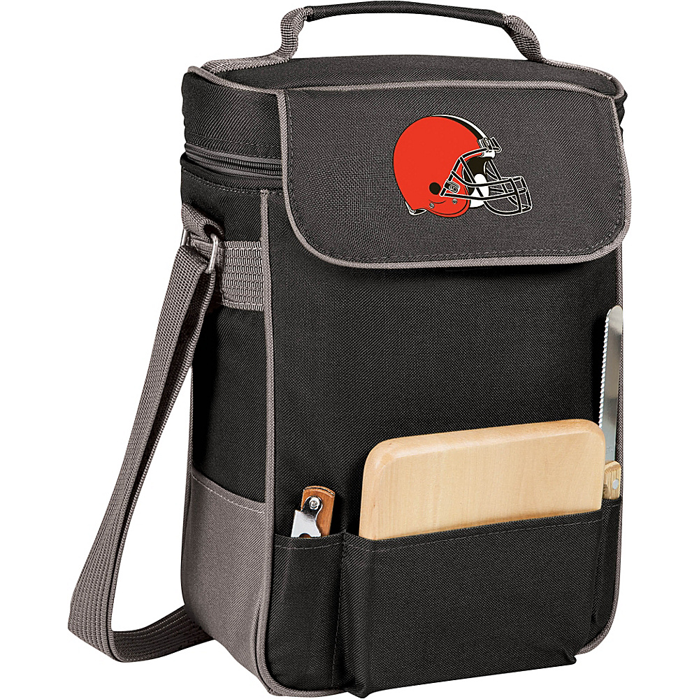 Picnic Time Cleveland Browns Duet Wine & Cheese Tote Cleveland Browns - Picnic Time Outdoor Coolers - Outdoor, Outdoor Coolers