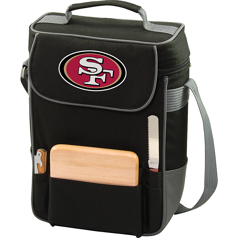 Picnic Time San Francisco 49ers Duet Wine & Cheese Tote San Francisco 49ers - Picnic Time Outdoor Coolers - Outdoor, Outdoor Coolers