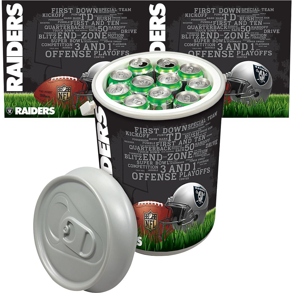Picnic Time Oakland Raiders Mega Can Cooler Oakland Raiders - Picnic Time Outdoor Coolers - Outdoor, Outdoor Coolers