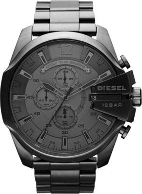 Diesel Watches Mega Chief Gunmetal - Diesel Watches Watches