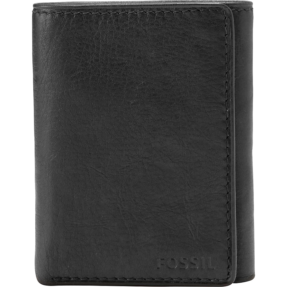 Fossil Ingram Extra Capacity Trifold Black - Fossil Mens Wallets - Work Bags & Briefcases, Men's Wallets