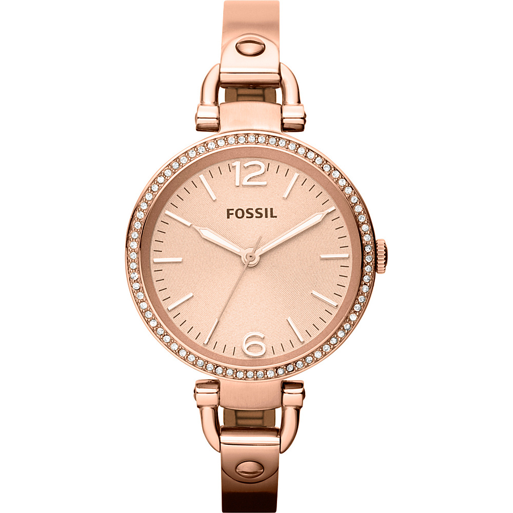 Fossil Georgia Rose Gold - Fossil Watches - Fashion Accessories, Watches