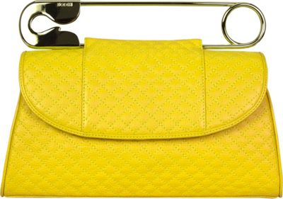 BODHI Quilted Safety Clutch Sunshine - BODHI Leather Handbags