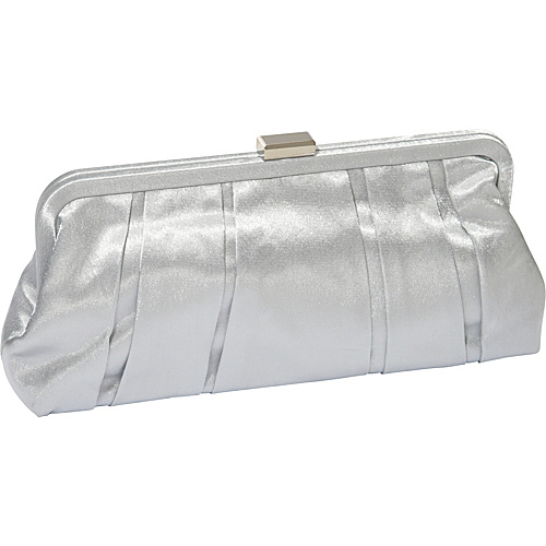 J. Furmani Classic Evening Bag Silver - J. Furmani Evening Bags